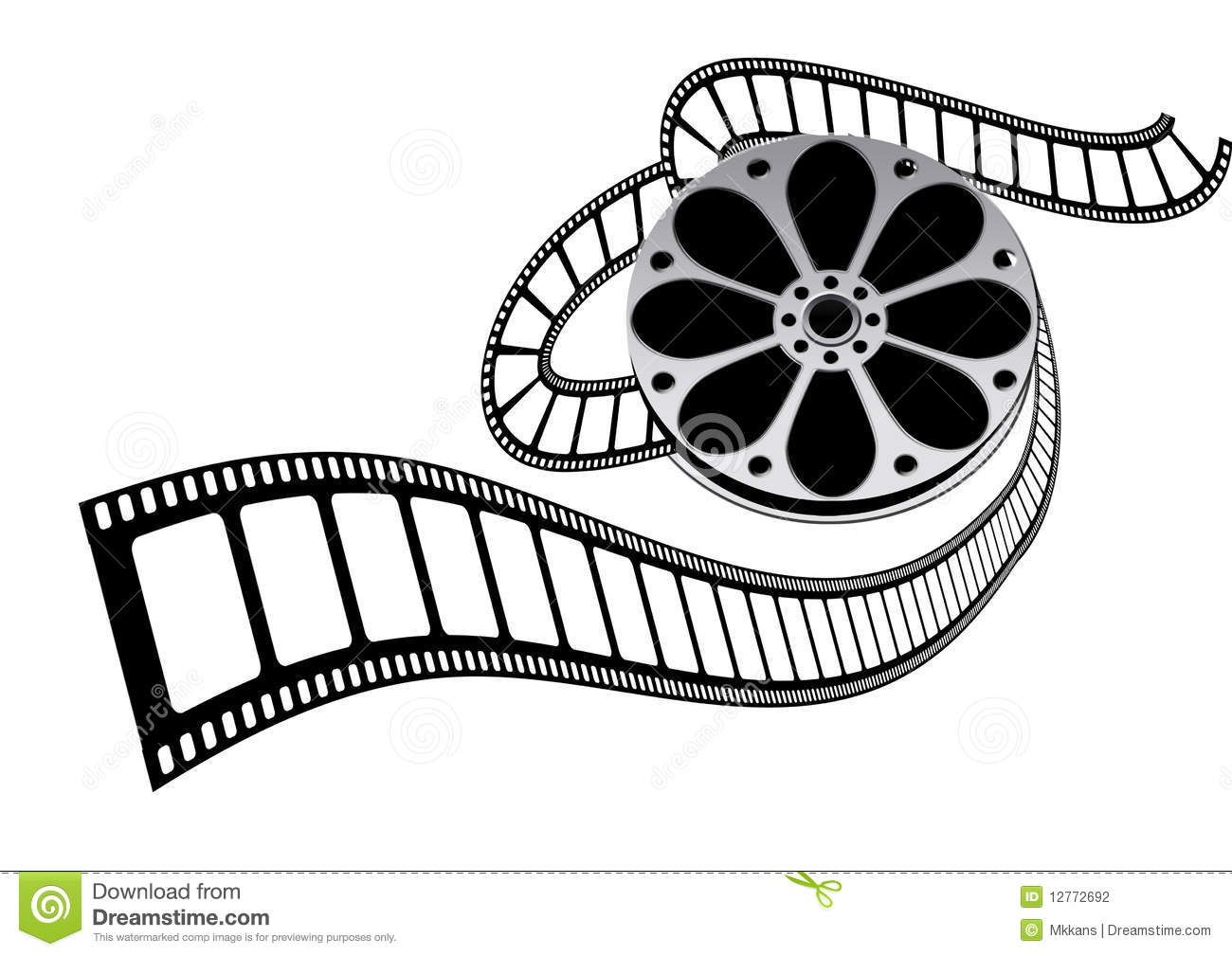 Movie Clipart Film Roll 7 In