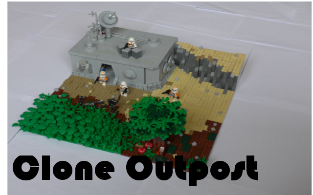 Lego Star Wars Moc Clone Outpost On Teth Lego Star Wars Mocs