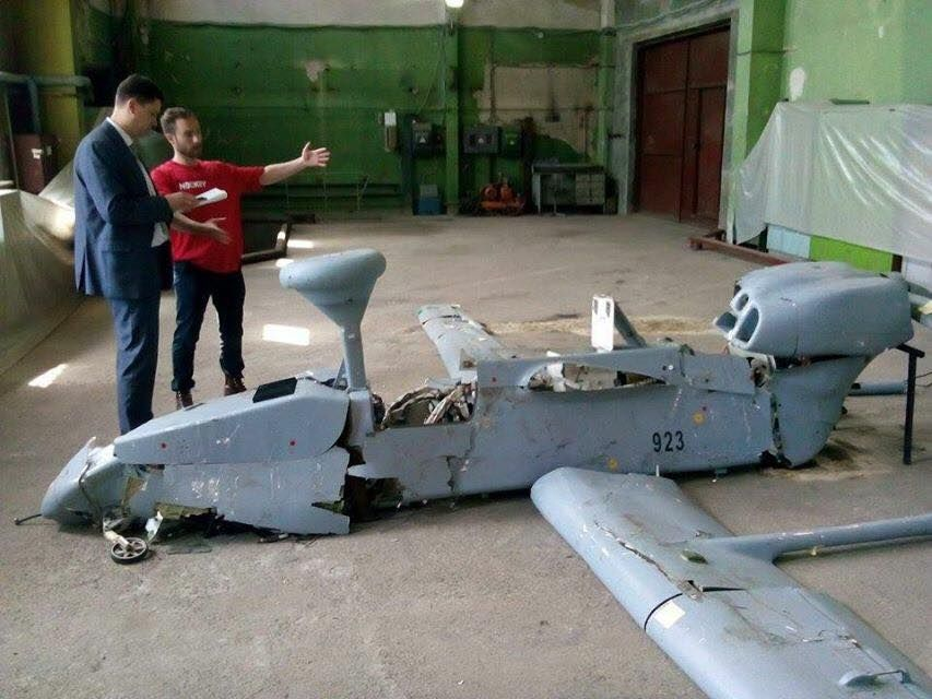 Exclusive Access to the Russian Forpost Drone Shot Down in Ukraine