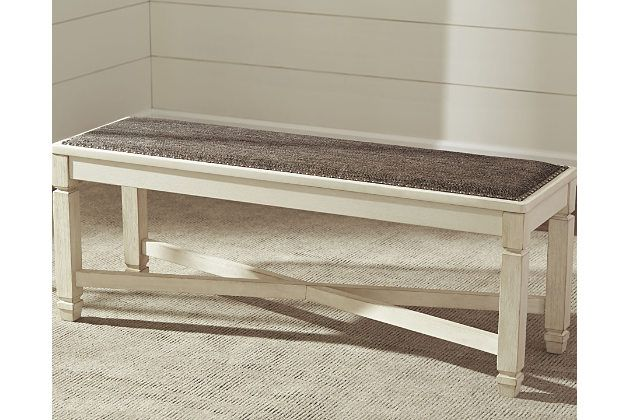 Bolanburg Dining Room Bench by Ashley HomeStore, Two-tone Dining
