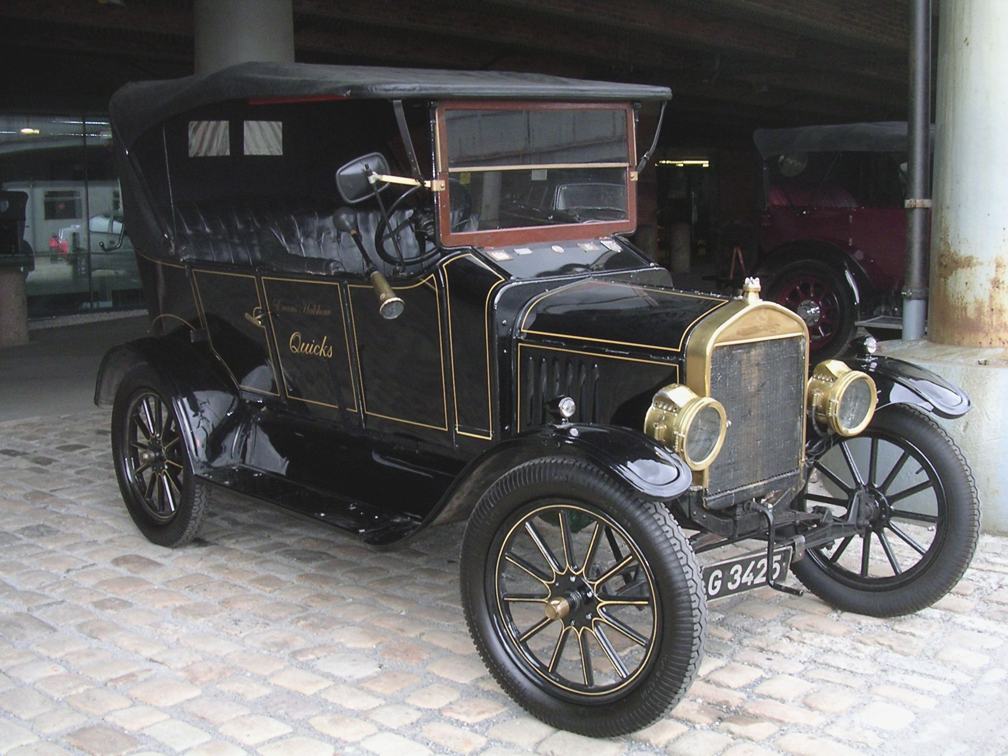 The Model T was created by Henry Ford\'s Ford Motor Company from ...