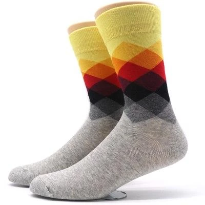 Socks Slipper Colorful Compression Chaussette Homme Lot Calcetines 5pair