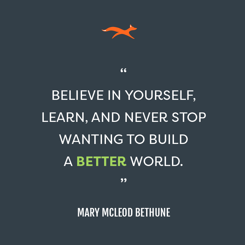 Mary Mcleod Bethune Quotes Enchanting What We Believe In 48 Motivation Quotes Pinterest Mary