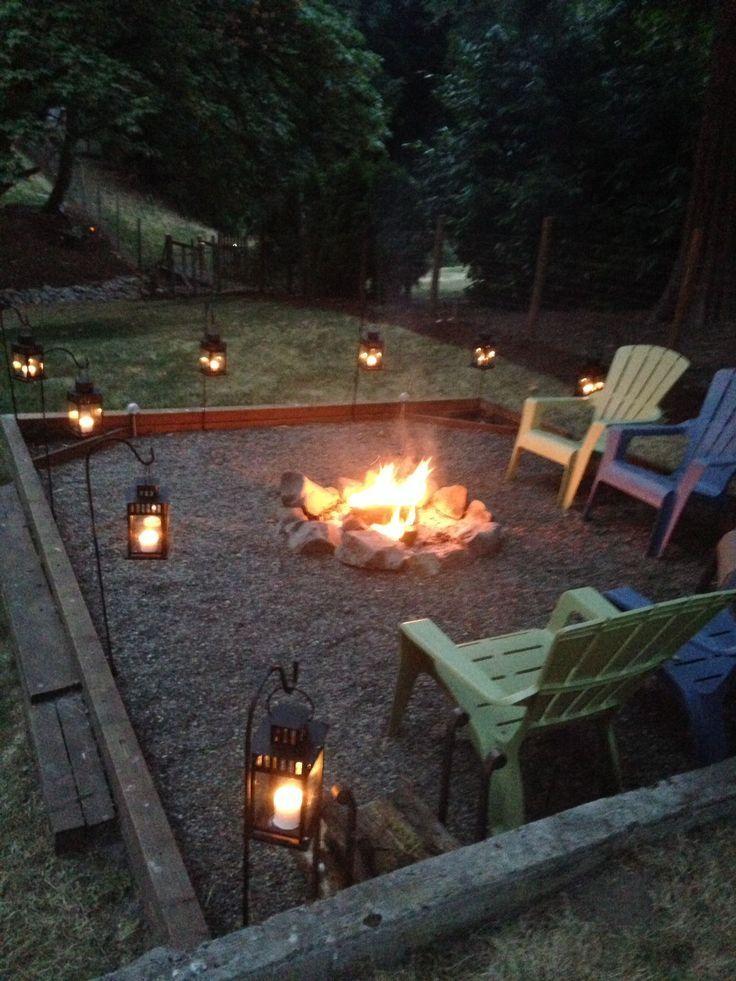 15 Einfache DIY Budget Friendly Fire Pit Design-Ideen zu bauen, #Bauen #Budget #DesignIdeen #Diy #einfache #Fire #Friendly #Pit #budgetbackyard