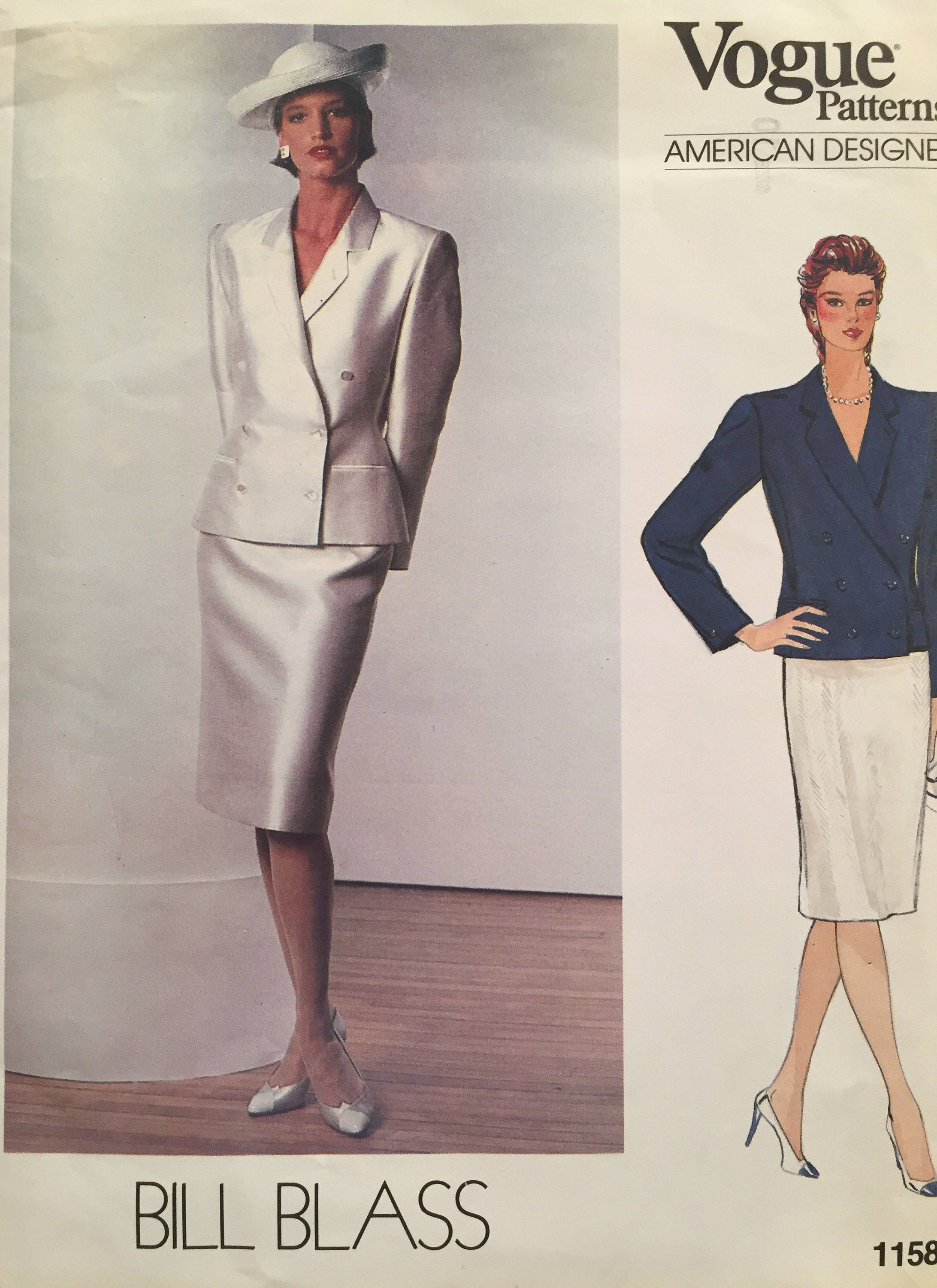Excited to share the latest addition to my  etsy shop  Vogue Bill BlassSuit  Double 4fe6704e4