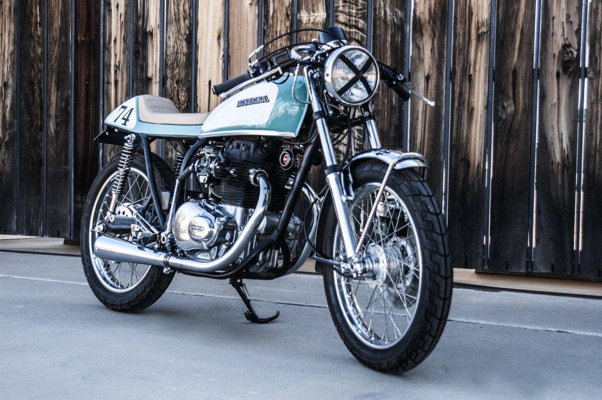 Shawn Smith's 1974 Honda CB360 Honda, Will smith, Motorcycle