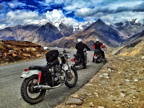 Rohtang Pass In Manali India Bike Trips Mountain Bike Tour
