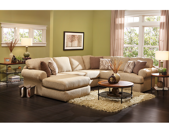 Sectionals Southport 3 Pc Sectional Sit Back And Enjoy Ultimate Comfort