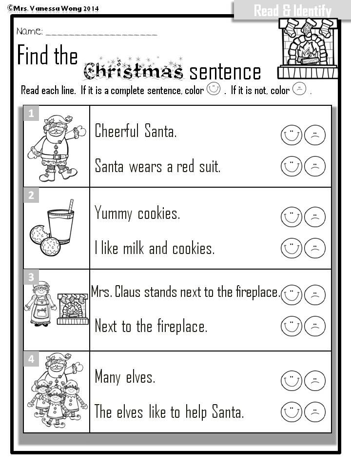 Christmas Literacy Centers  Short Vowels Syllable And Tic Tac Toe