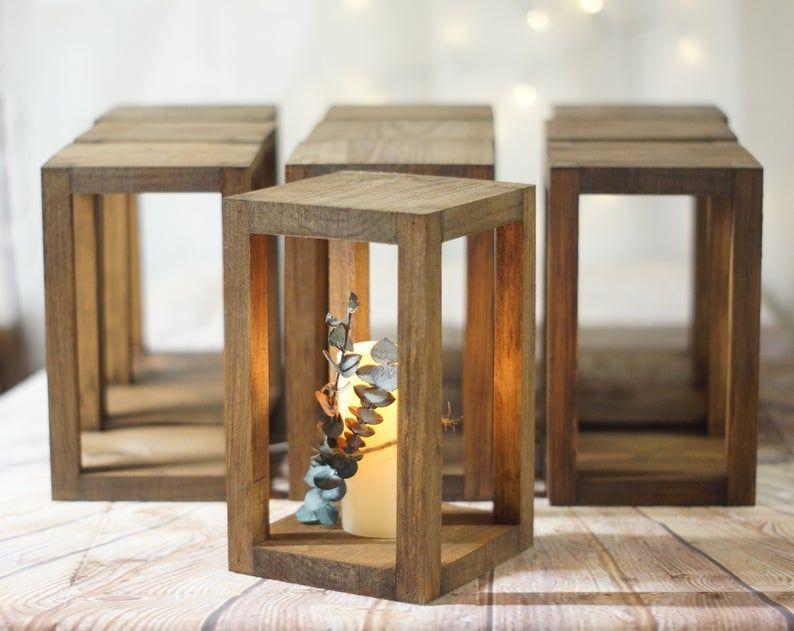 10 17 Bulk Wedding Lantern Centerpiece Rustic Wedding Table Etsy Rustic Lantern Centerpieces Lantern Centerpiece Wedding Rustic Wedding Table Decor