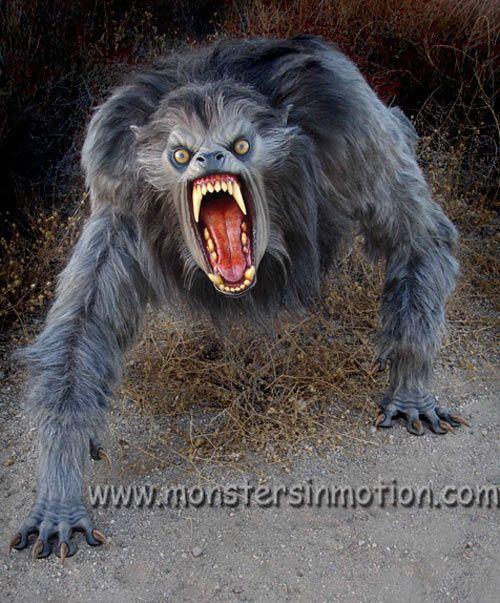 american werewolf in london | An American Werewolf in London Lifesize Prop - The Green Head