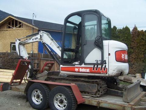 BOBCAT 331, 331E, 334 MINI EXCAVATOR SERVICE REPAIR MANUAL INSTANT ...