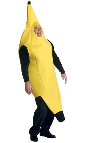 It's a guy dressed like a banana. How could that NOT be funny? :)