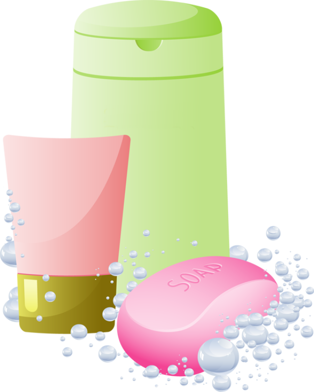 Shampoo And Soap Clipart | Hobbies | Clip art, Soap, Body Wash