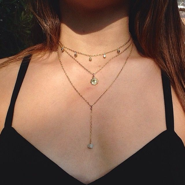 Just posted the Layered Sol Necklace on my site #Gypsea #jewels #inspiredbysea #perfectforsummmeerr