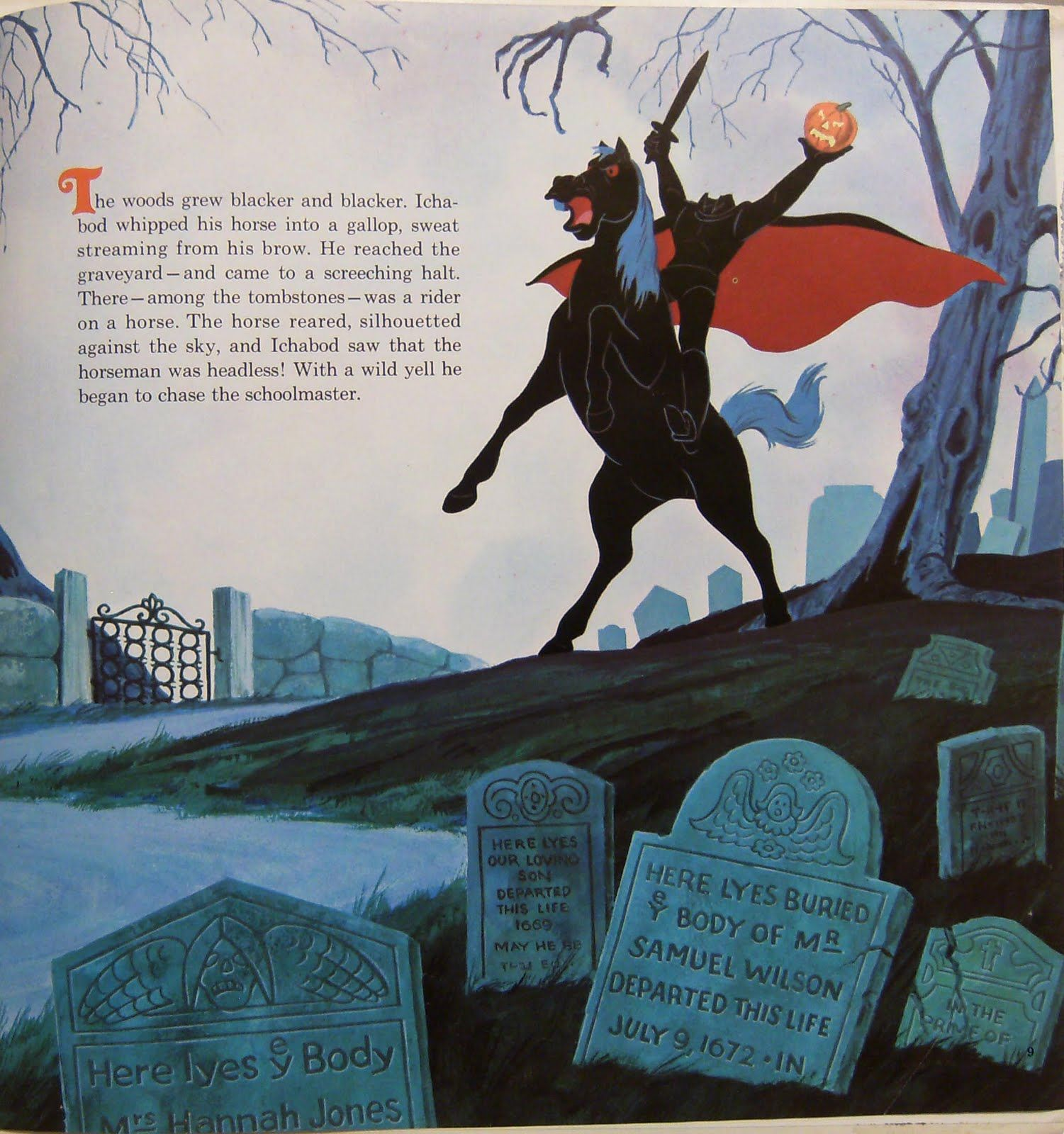 Sleepy Hollow Headless Horseman: The Legend Of Sleepy Hollow (Disneyland Record, 1971