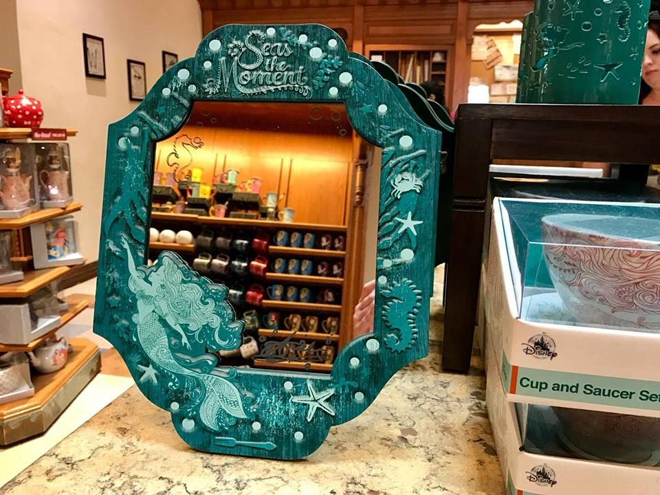 Little Mermaid Home Goods And Decor At Disneyland Disney Home Decor The Little Mermaid