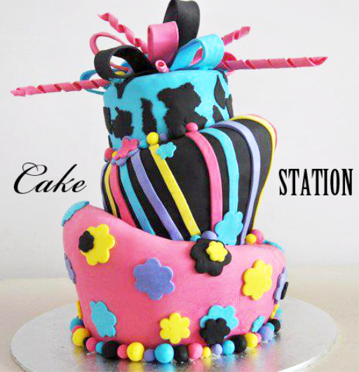 Photo 18 of 19 in Birthday Cakes for men women Fantasy Cakes