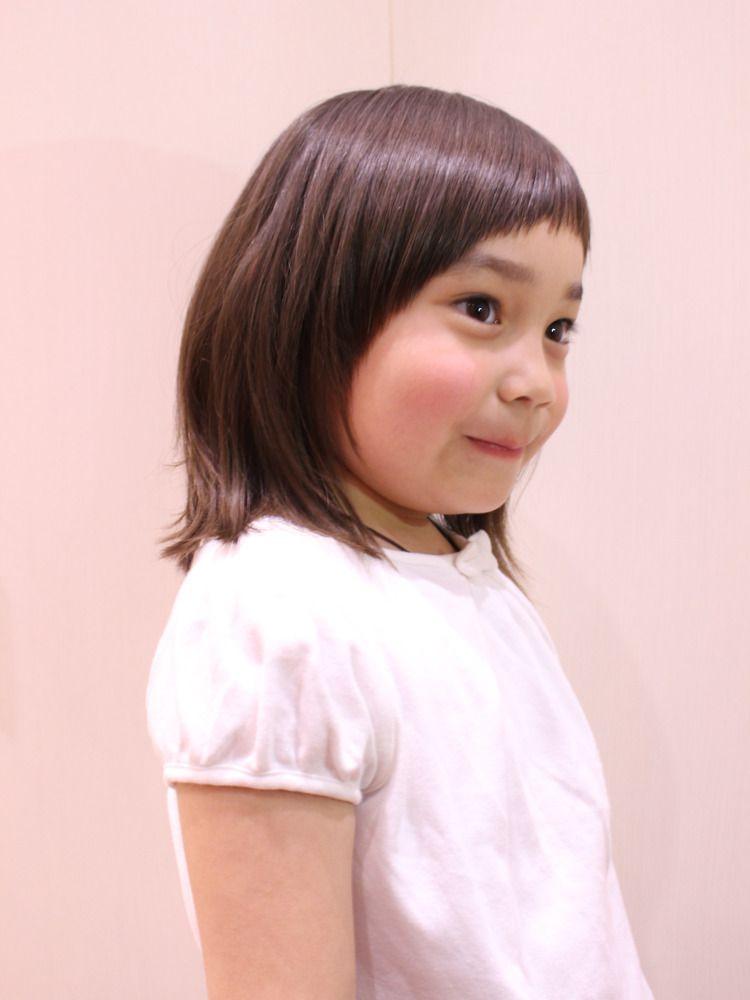 チョッキンズ プレゼンツ 子どもの髪型 エールバングボブディ 子供髪型 女の子 キッズ ヘアスタイル 女の子 子供 髪型