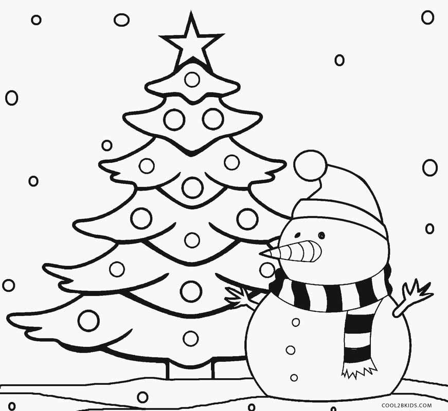 christmas tree color pages diy crafts ideas children s