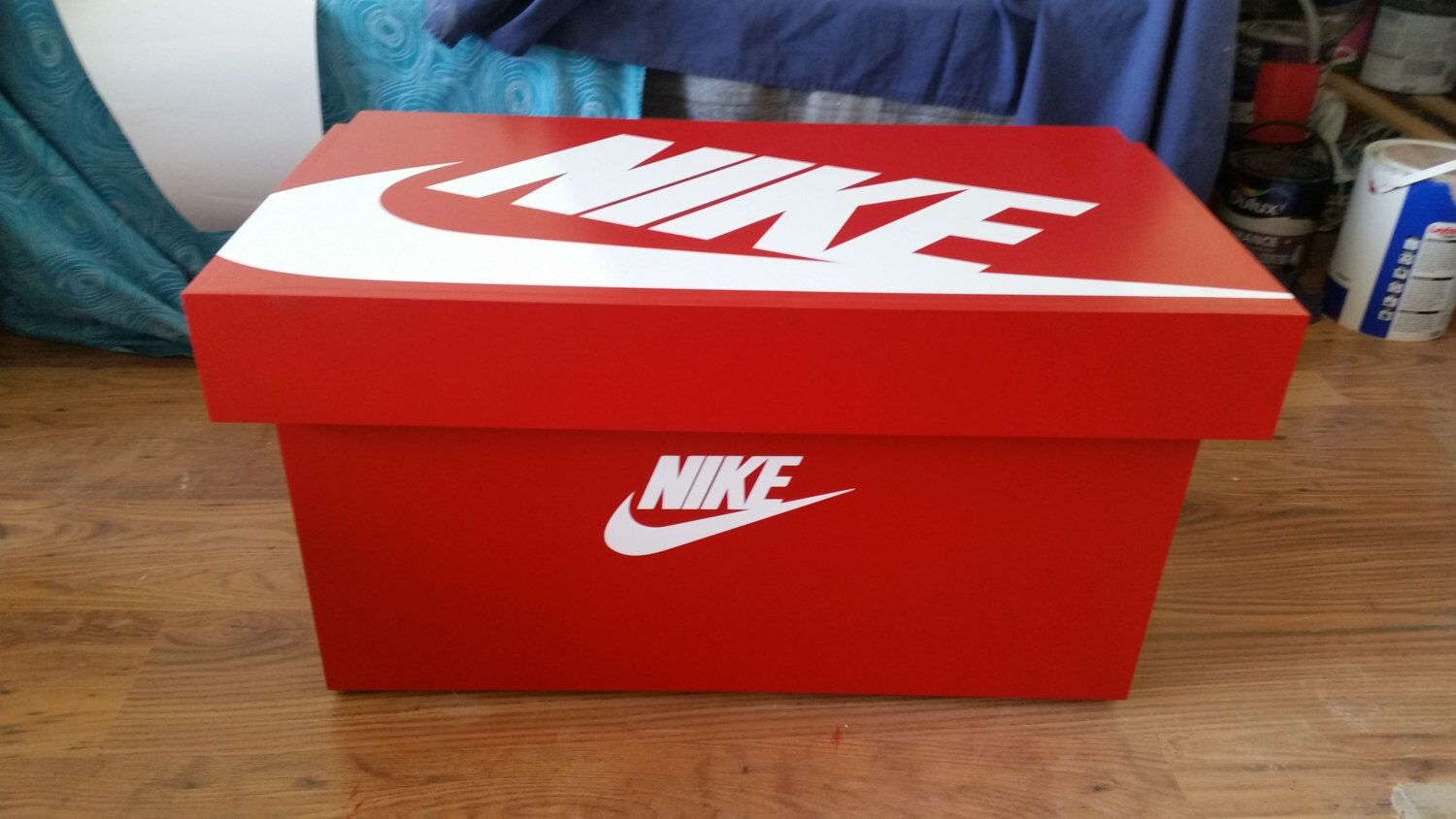 3bd4a96cc920c XL Trainer ShoeStorage Box, Nike Giant Sneaker Box (fits 6-8no pairs ...