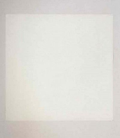 1000 hours of staring by tom friedman a blank piece of paper at