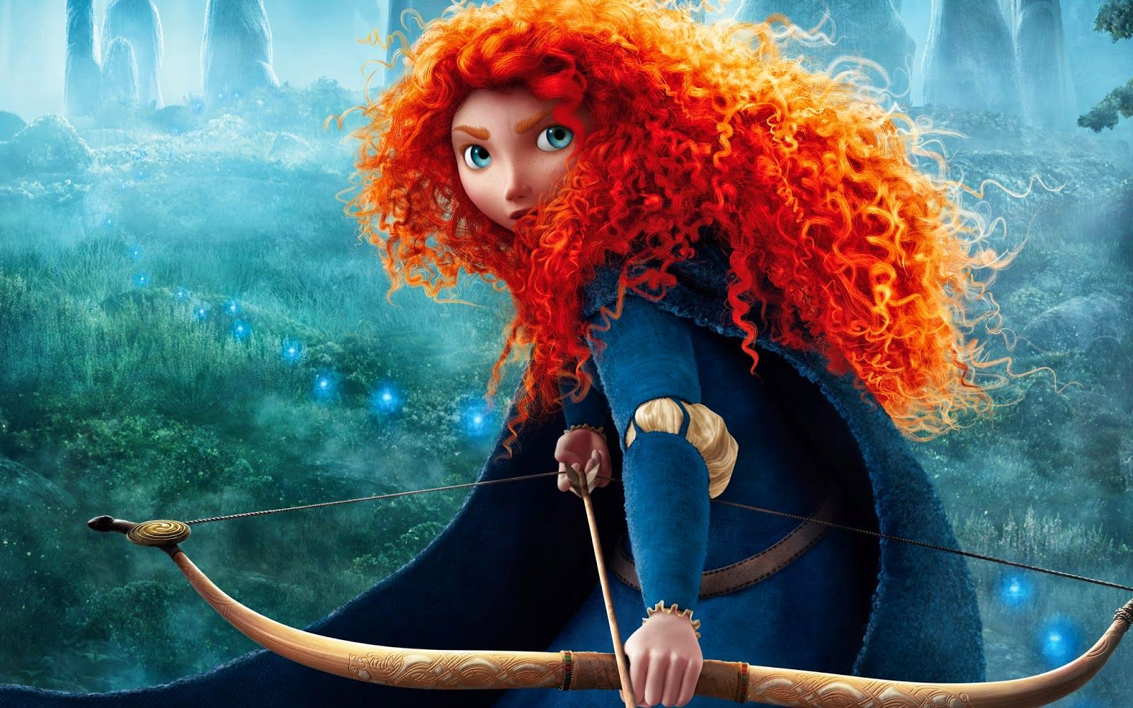 See Even Disney Princesses Have Curly Hair Haha D Curlsarein Disney Brave Merida Disney Brave Movie