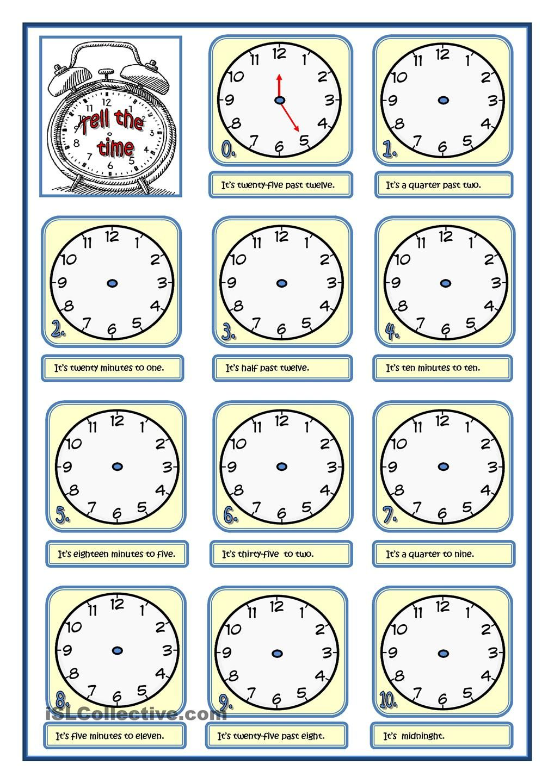tell the time clock teaching english grammar teaching english y worksheets. Black Bedroom Furniture Sets. Home Design Ideas