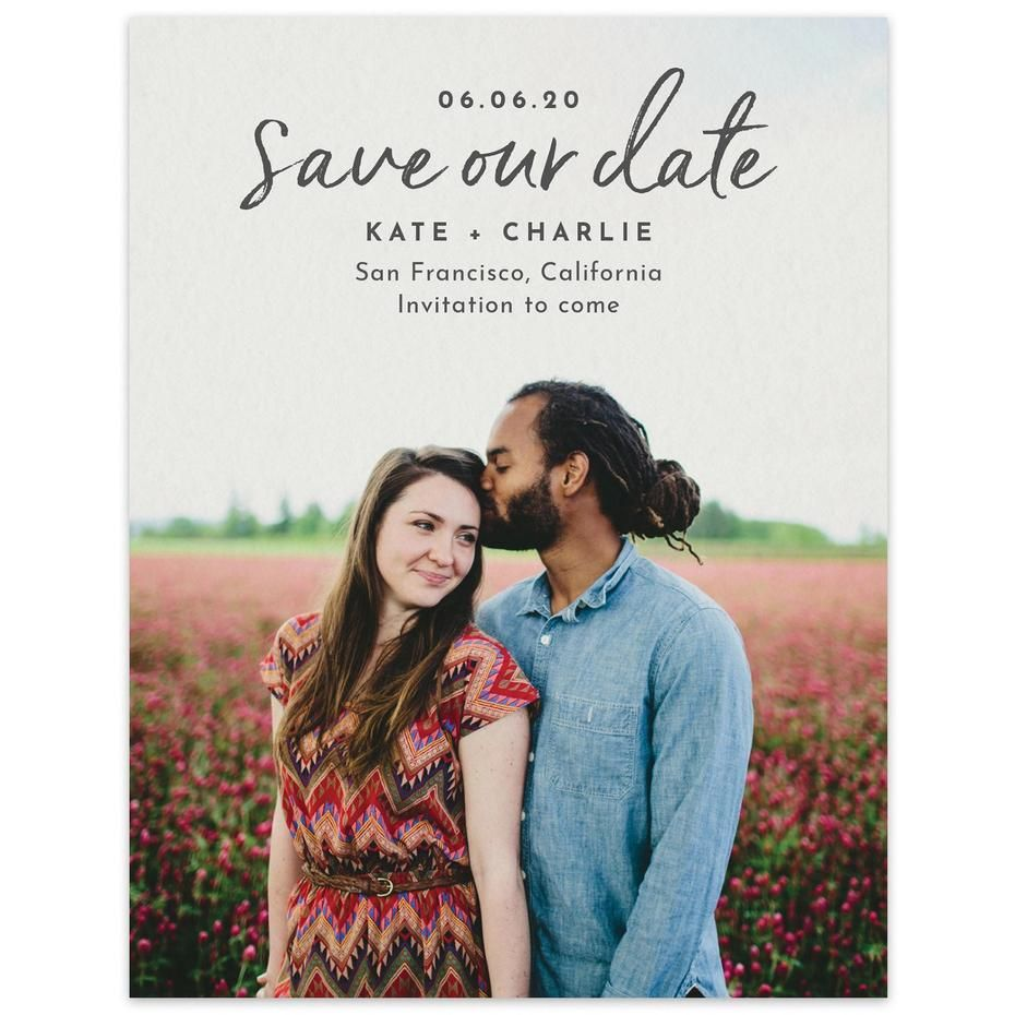 c430e7d415 Save the Date Cards for Weddings - Free Shipping | Zola | Wedding in ...