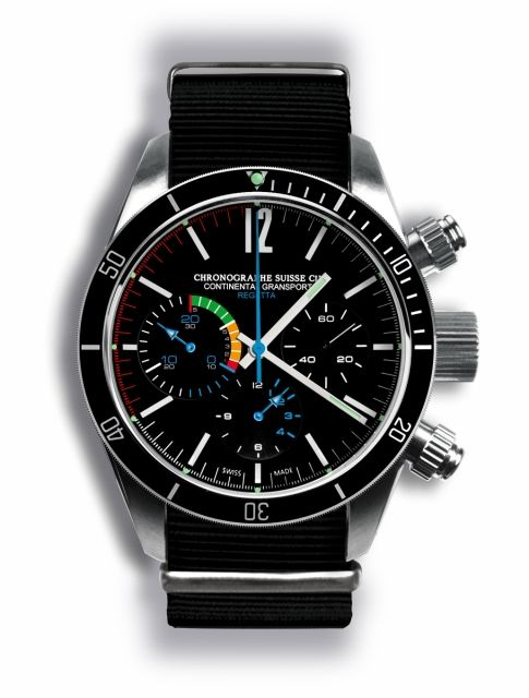 The Best Looking Watch of All Time  The Chronographe Suisse Cie Continental  Gransport Regatta. » Time Slug cb0cf48f19