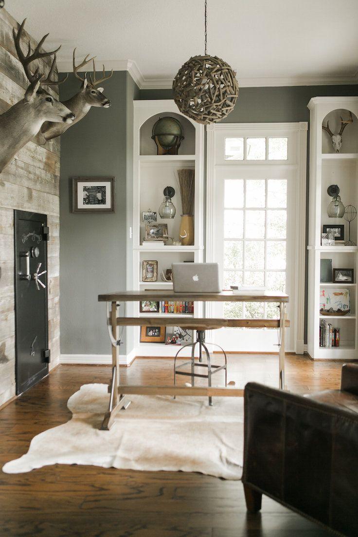 farmhouse style office ideas