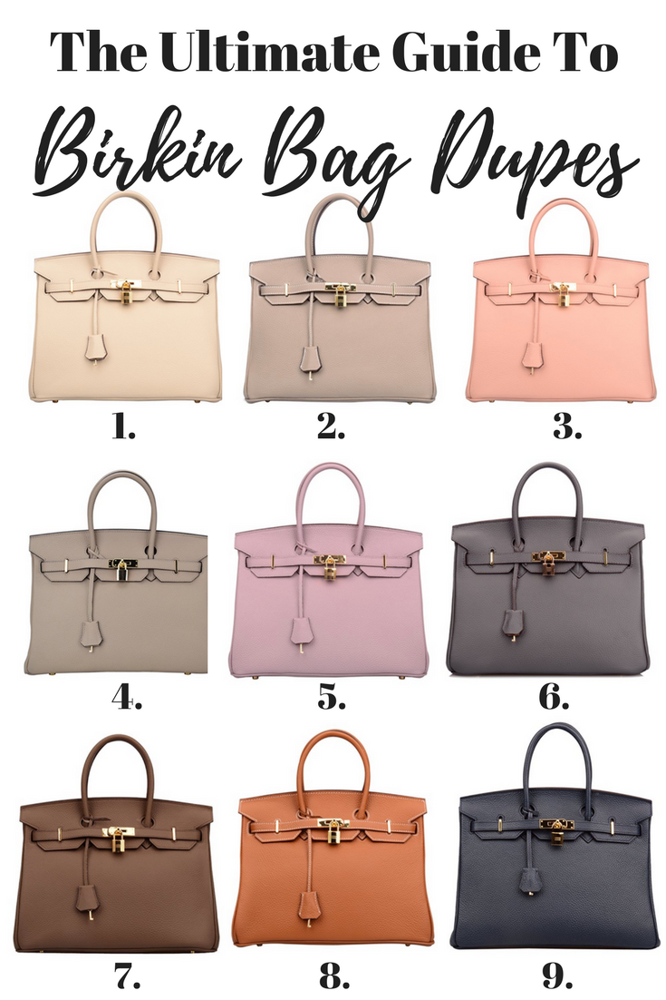f516770f0e Birkin Inspired Handbags - Your Ultimate Guide To Hermes Bag Dupes ...