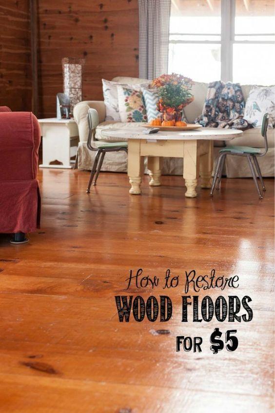 Restore Shine On Wood Floors Restore Wood