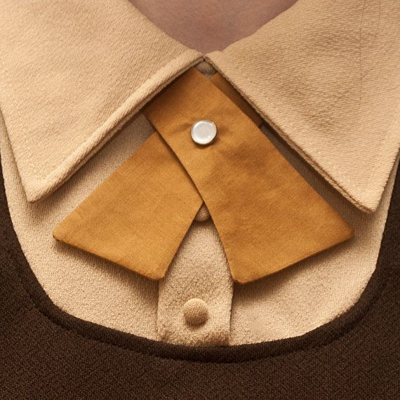 Hey, I found this really awesome Etsy listing at http://www.etsy.com/listing/96215160/womens-neck-tie-mustard