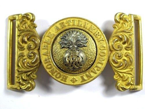 Honourable Artillery Company original Victorian Officers Waist Belt Clasp.   eBay