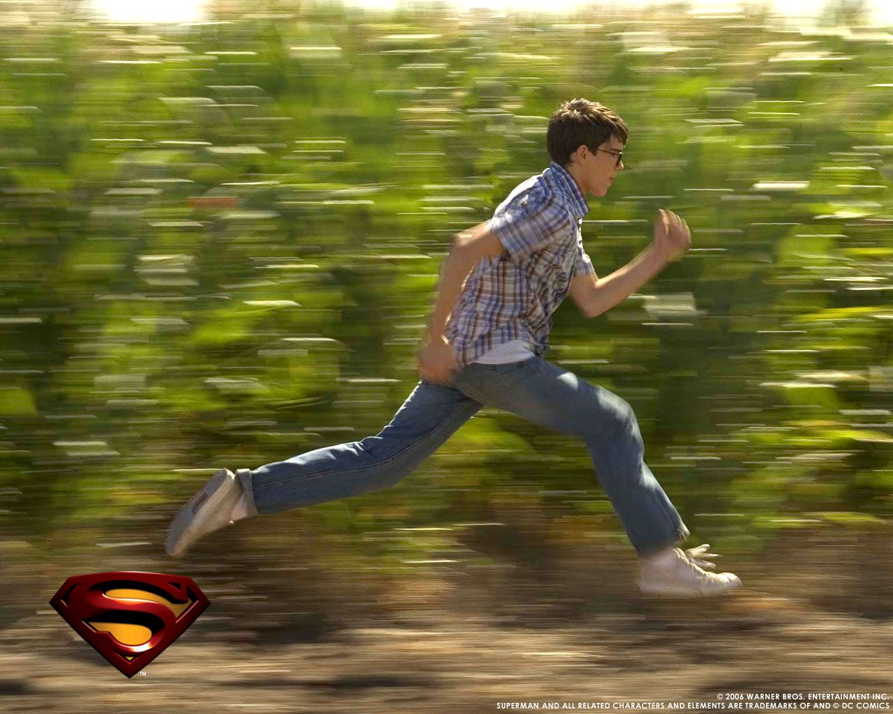 Now Playing Superman Returns 2006 Superman Returns Running Superman