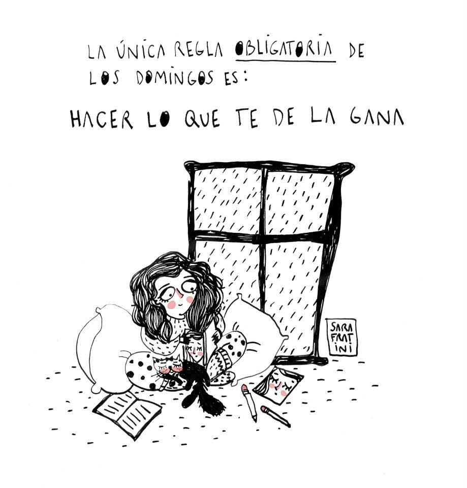 ¡Adoro los domingos! www.elrincondemirecreo.es