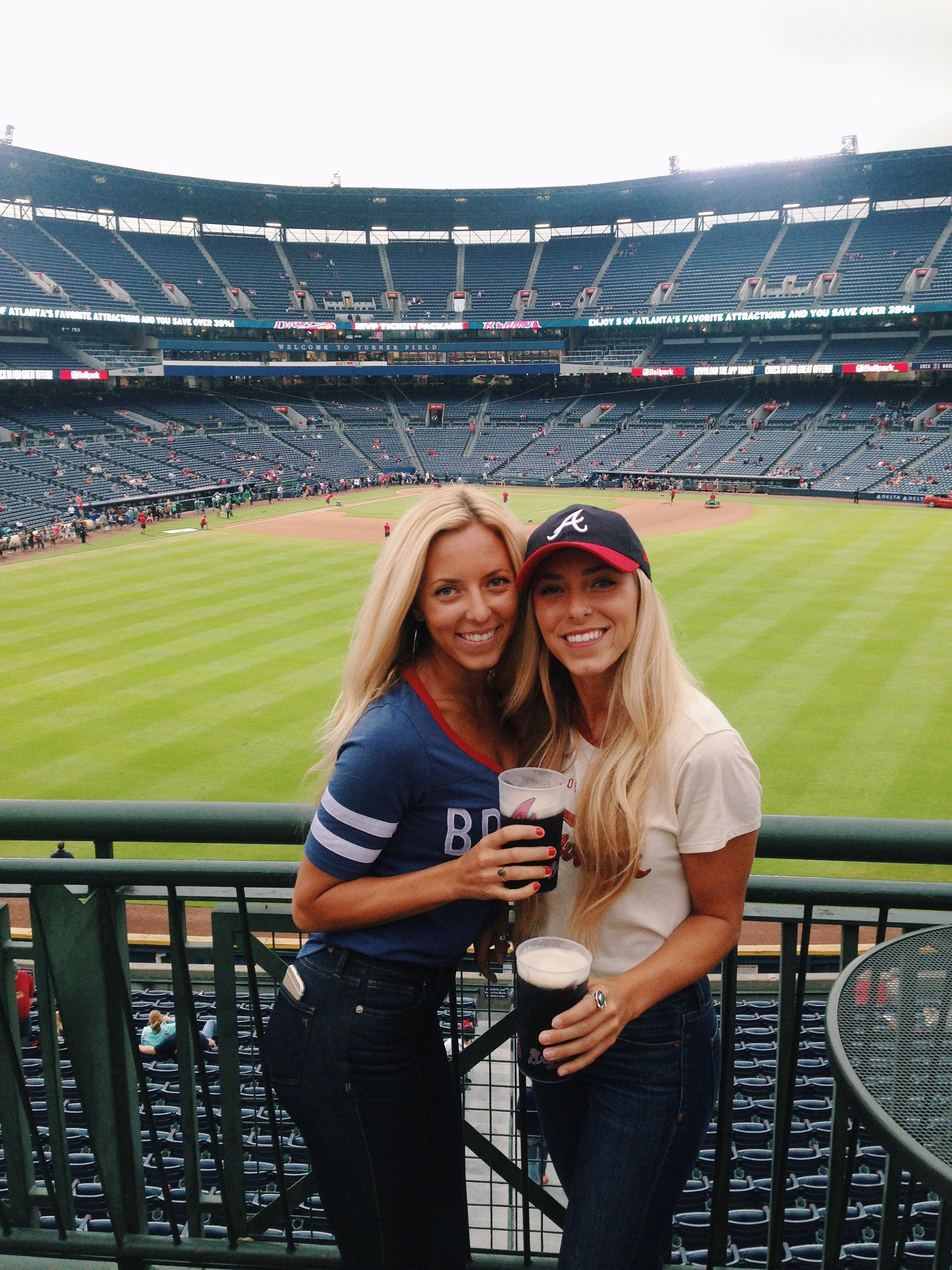 Atlanta Braves Baseball Baseball Game Outfit K C