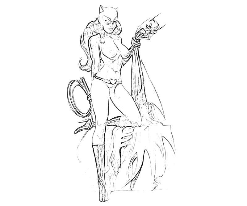 catwoman coloring pages sescatwonmen colouring pages page 2