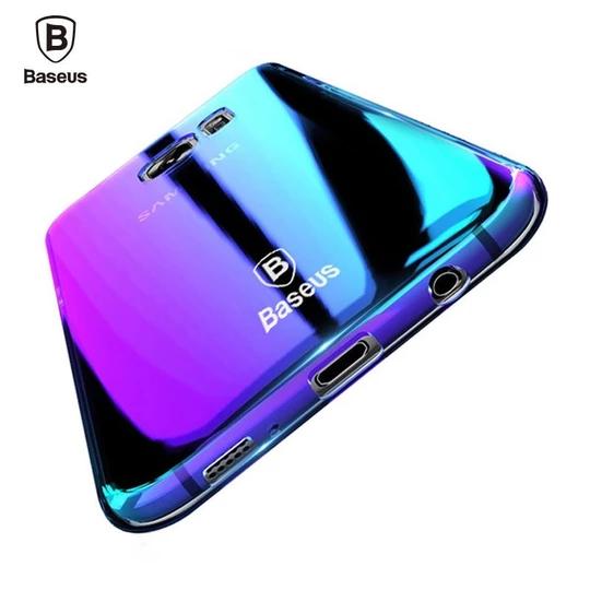 Baseus Brand Luxury Case For Samsung Galaxy S9 S9 Plus Aurora Gradient Modlilj Samsung Samsung Phone Cases Samsung Galaxy S7 Cases