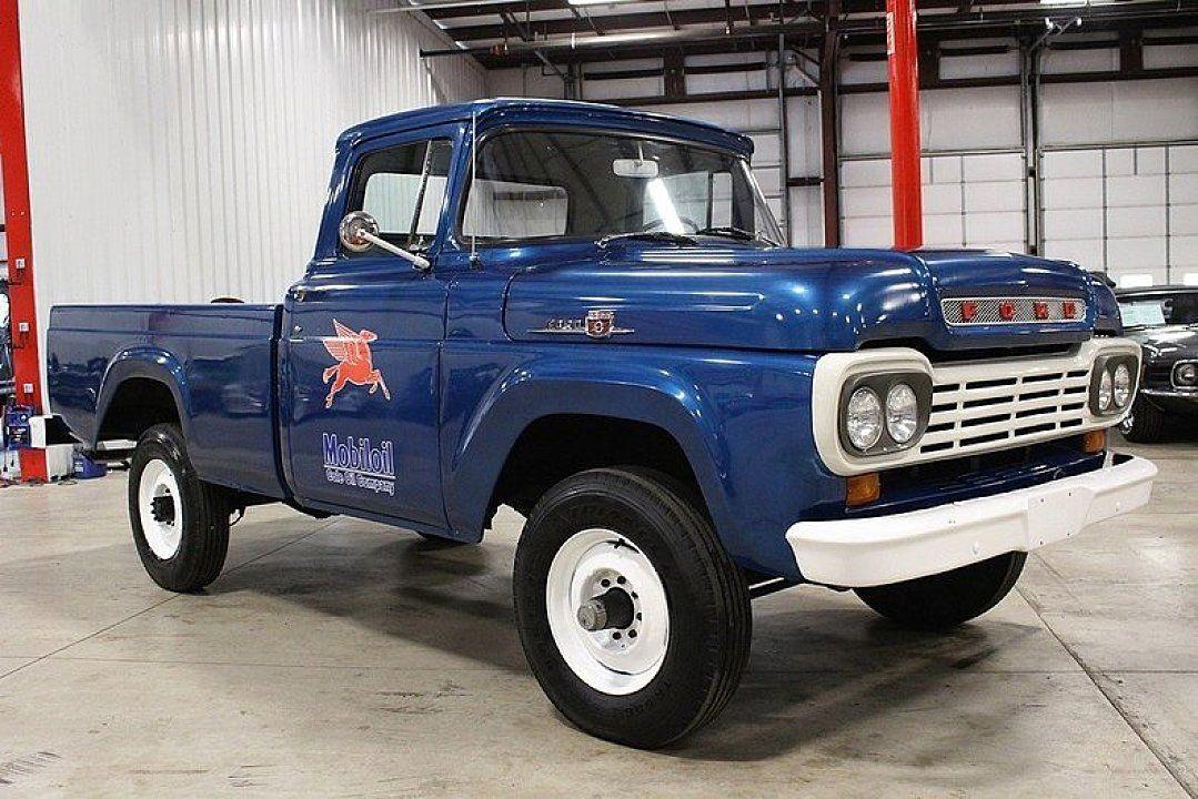 1959 Ford F250 For Sale Near Grand Rapids Michigan 49512 Classics On Autotrader Classic Ford Trucks Ford Trucks Ford Pickup Trucks