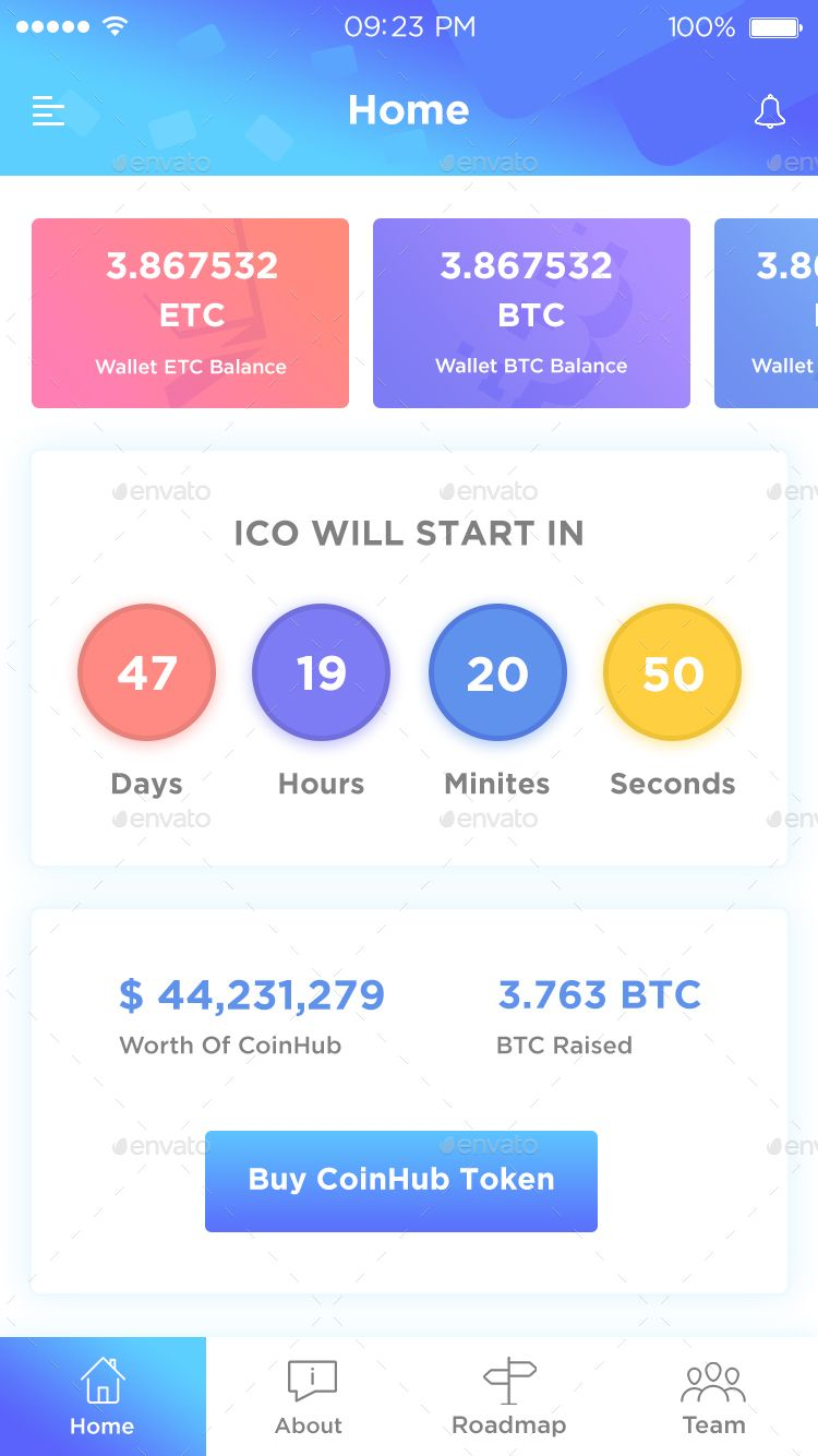 how to buy an ico token