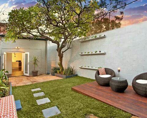 terraza #jardín #plantas #masetas #jardineras Jardines-Decoración