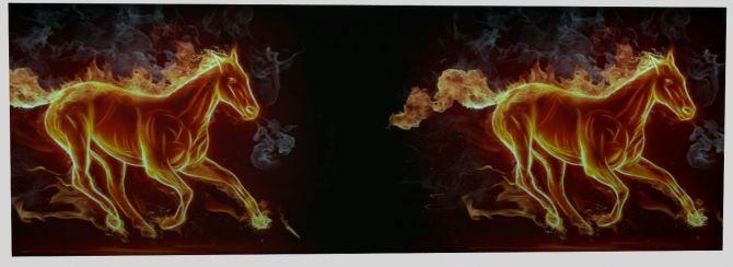 Burning Horse Wallpaper By Sonnenschein56 At Sims Marktplatz Via 4 Updates Check More