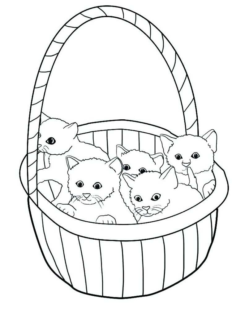 Baby Kitten Coloring Pages : kitten, coloring, pages, Kitten, Coloring, Pages., Little, Under, Book,, Page,, Kittens