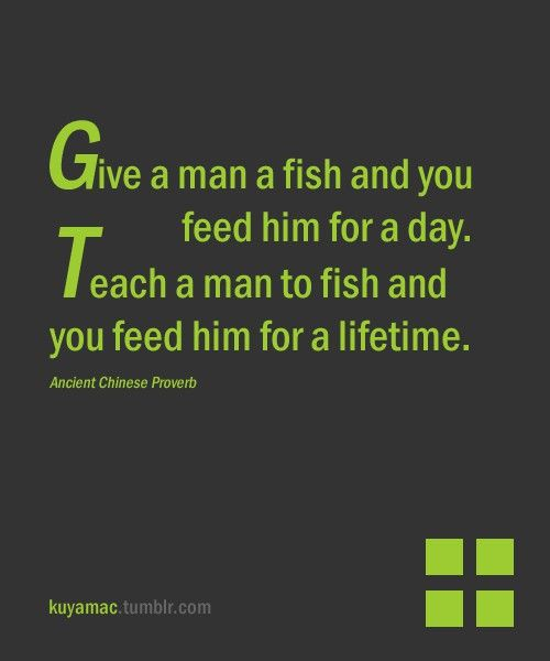 The true about fishing!