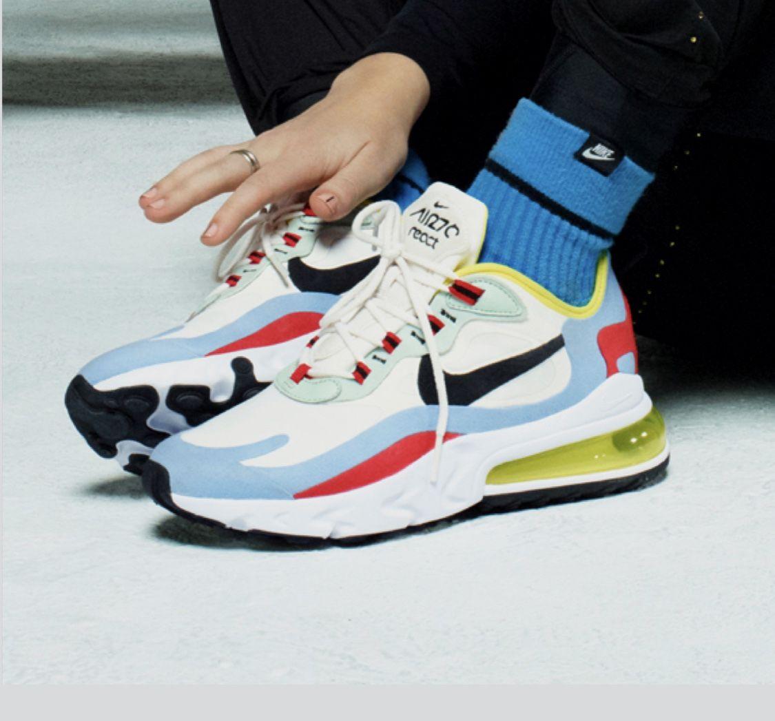 Nike Air Max 270 React Sneakers Tenis