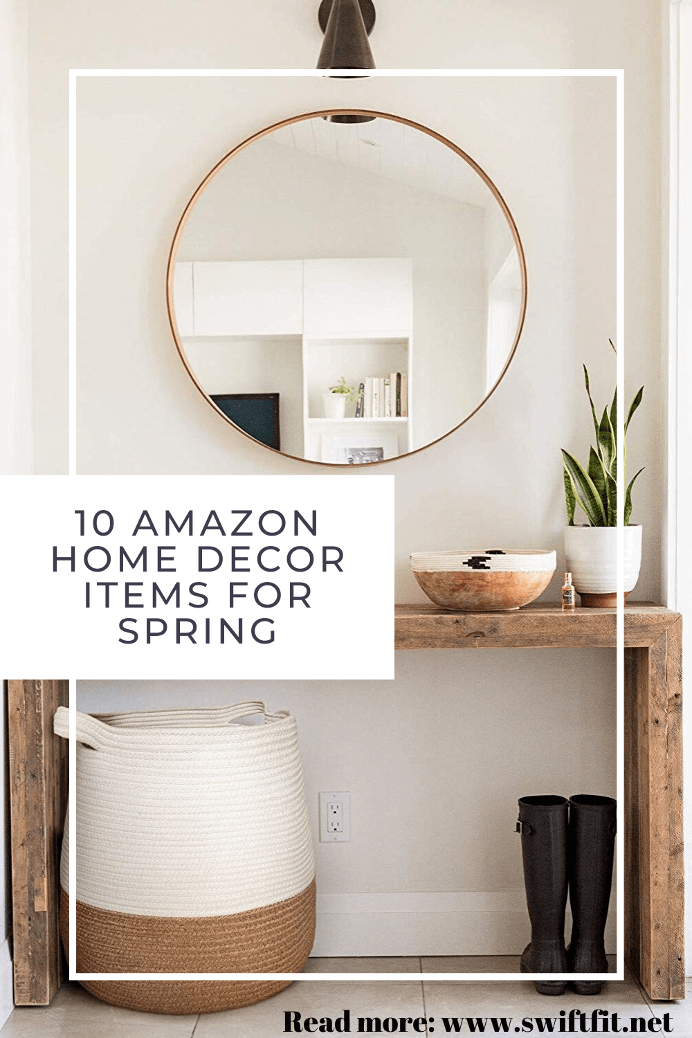 Making a simple decor change in a room can completely transform the space for the season. We're sharing our favorite budget-friendly Amazon home decor finds for spring to help you give your home a light and airy refresh!