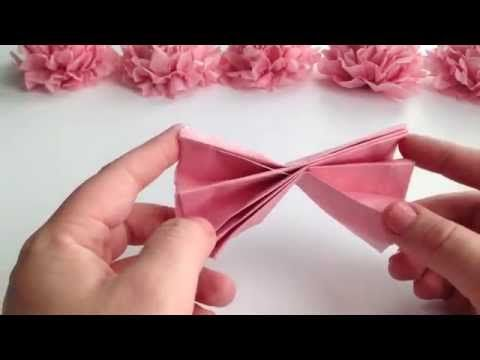How to diy tissue pom poms easyquick tutorial youtube crafts how to make giant paper flowers for a wedding backdrop diy craft tutorial mightylinksfo Gallery