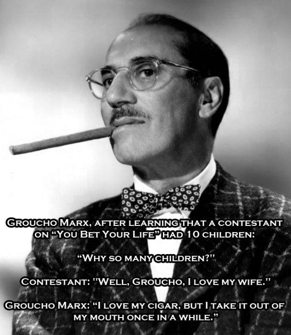 Daily Humor Funny Videos Pictures Memes Clips In 2020 Witty Quotes Groucho Groucho Marx Quotes